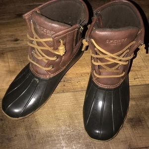 Sperry Duck Saltwater Shoes Boots 3